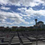 The Holocaust memorial in Berlin