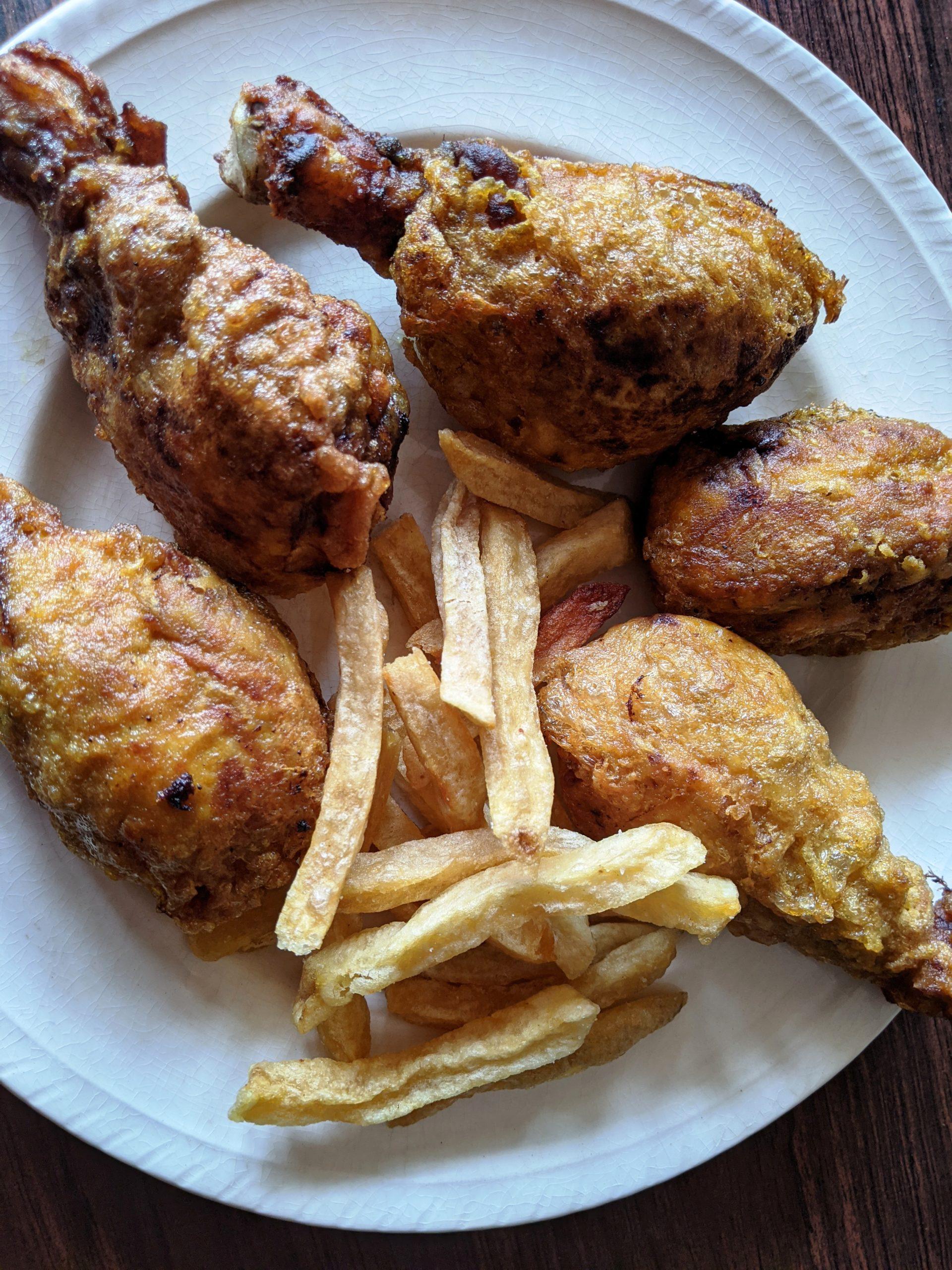 chicken farcha parsi style